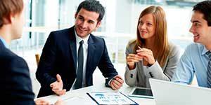 página web para gestorías, gestiones empresariales