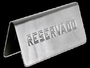 Reserva de mesa en pagina web para parrillada